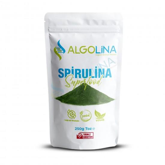 "Algolina Spirulina Powder 1 Kg - ""Turkey's First 100% Domestic Production"""